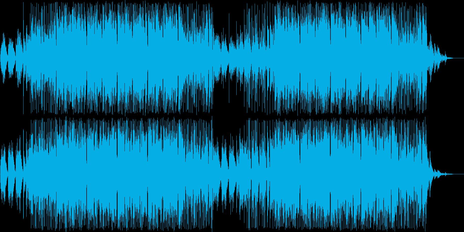 海の中を漂うメロウなギターポップスの再生済みの波形