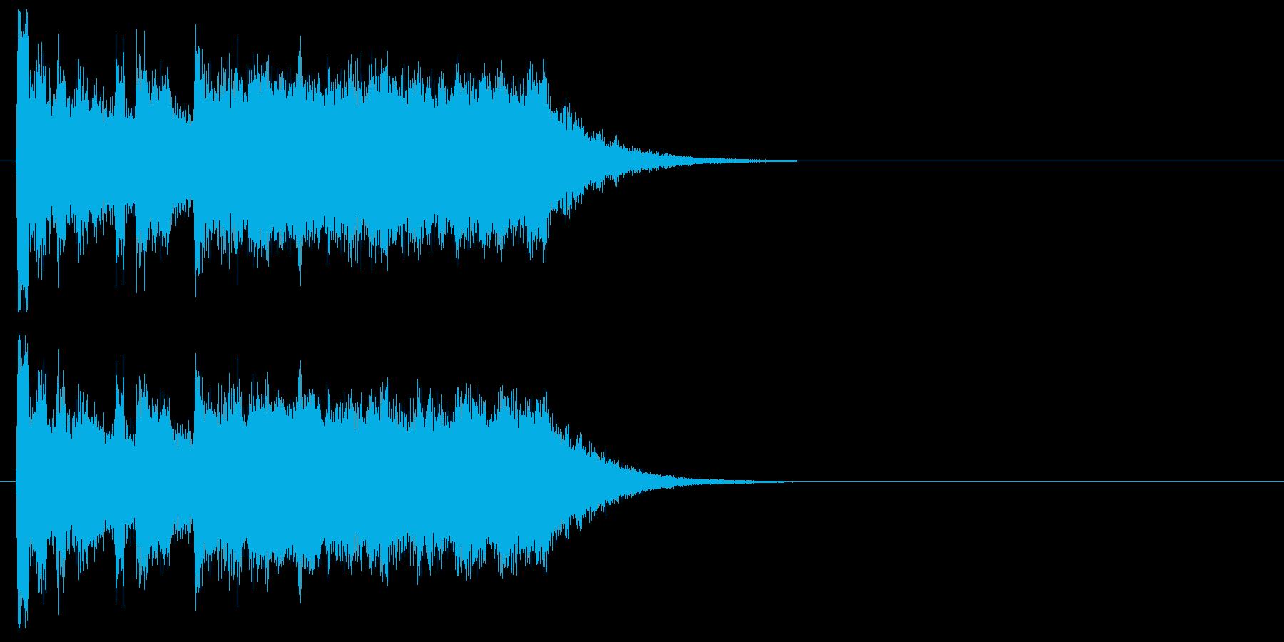 ファンファーレ 登場 表彰 発表 宮殿の再生済みの波形