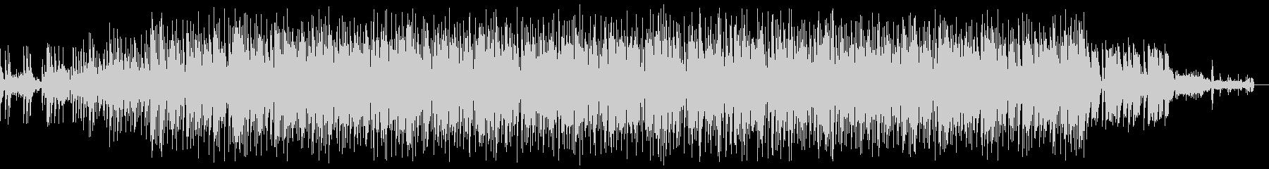 スタイリッシュなエレクトロの未再生の波形
