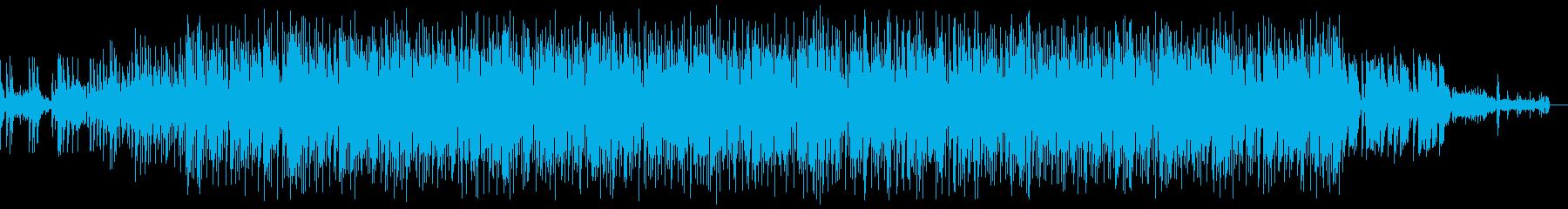 スタイリッシュなエレクトロの再生済みの波形