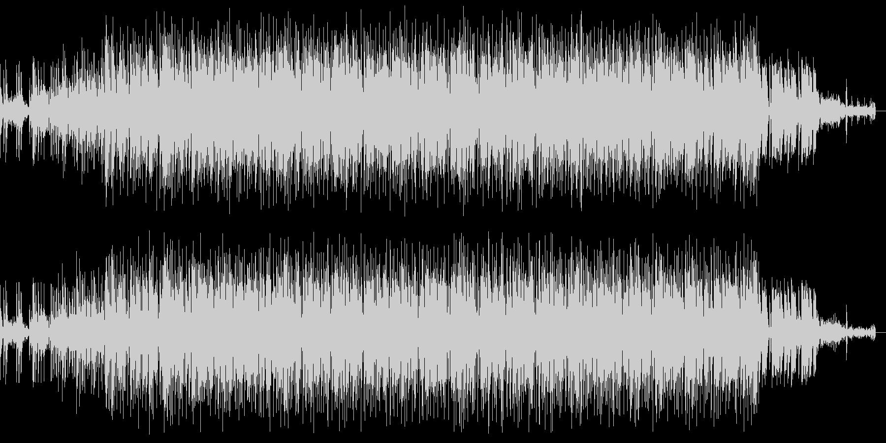 スタイリッシュなエレクトロ曲です。の未再生の波形
