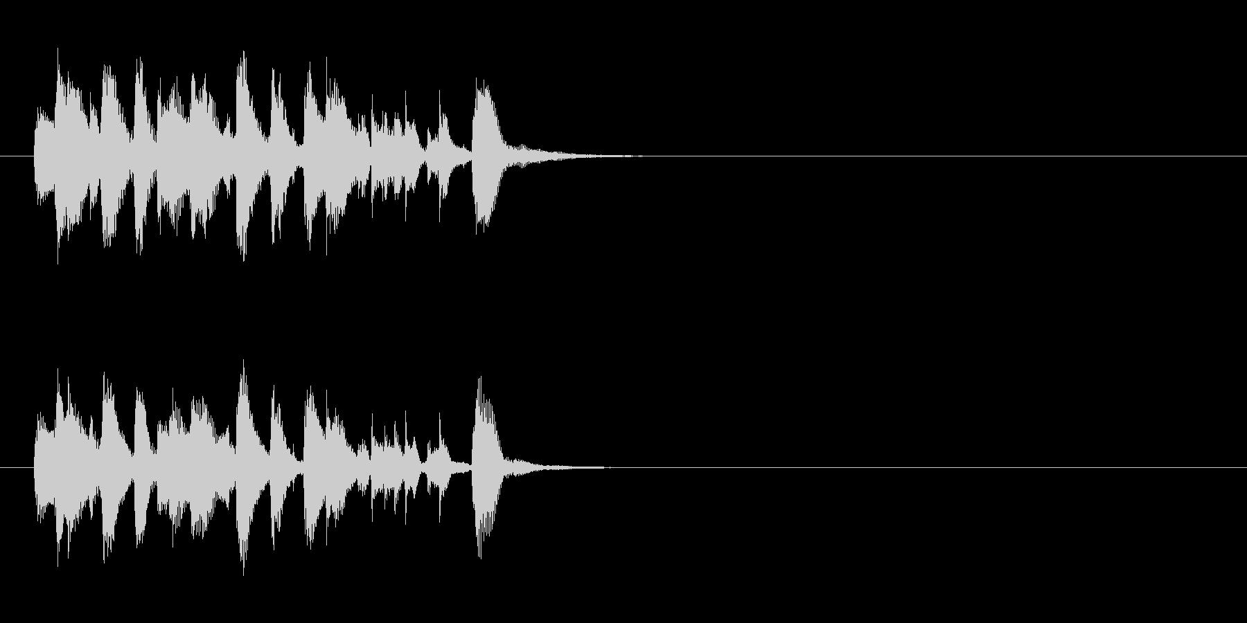 ジングル/コミカル(古き良き喜劇映画風)の未再生の波形
