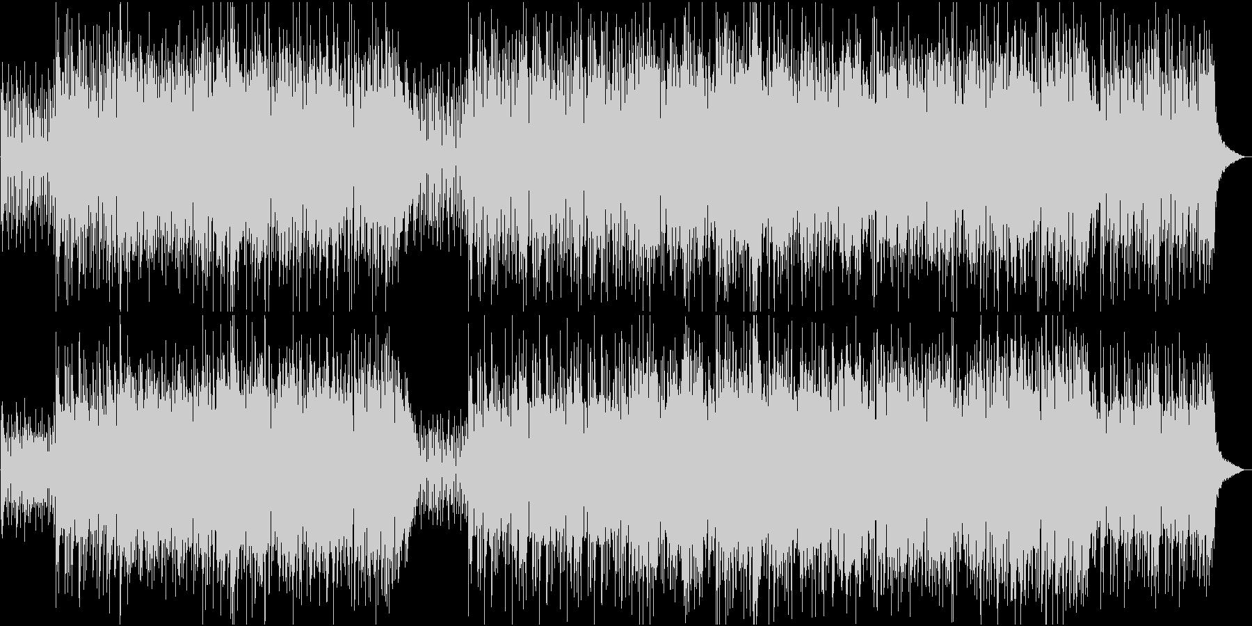 清々しい早めのボサノバ_ギターとフルートの未再生の波形