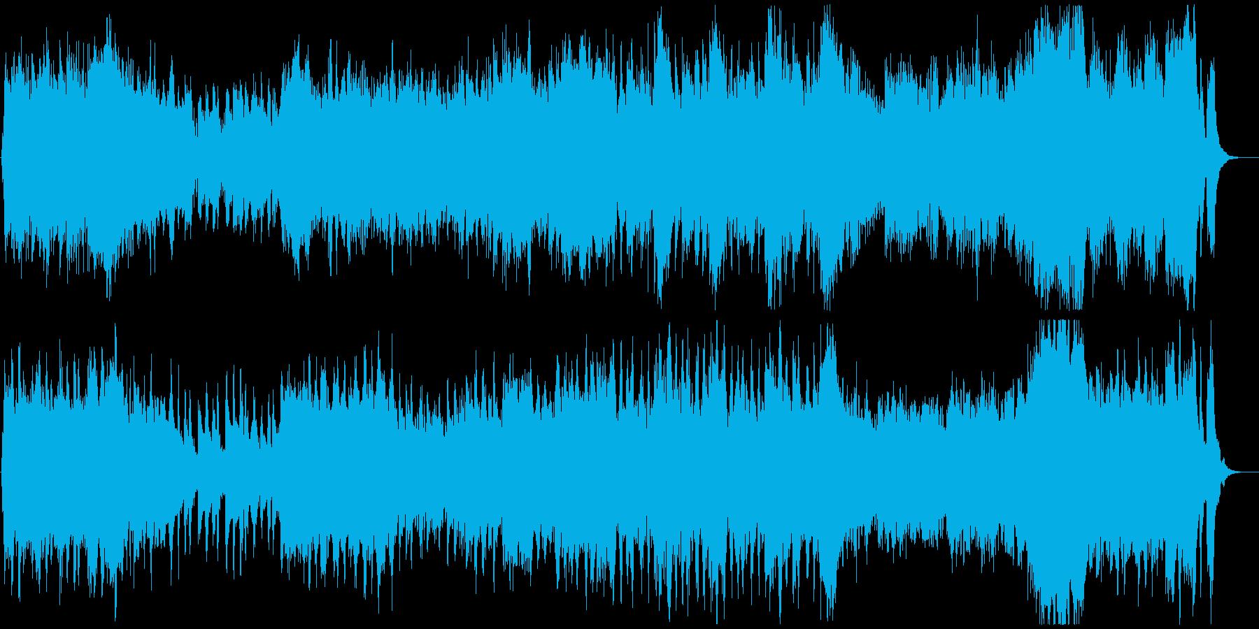 華やかなオープニングオーケストラの再生済みの波形