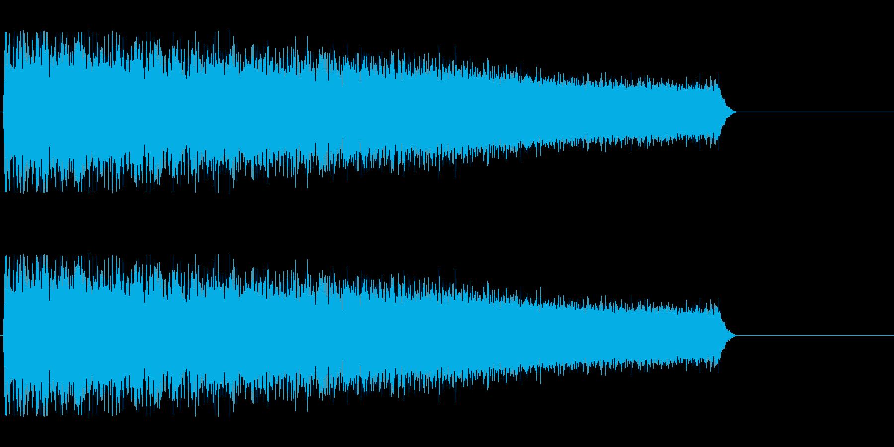 ゴゴゴゴギュルルゥン↑(レーザー、溜め)の再生済みの波形
