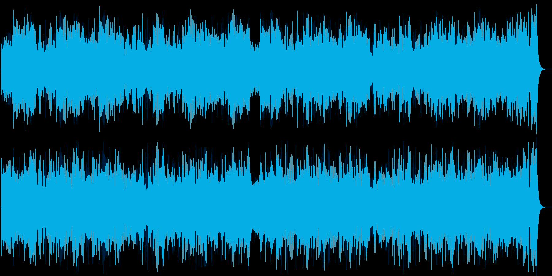 神秘的で壮大なオーケストラサウンドの再生済みの波形
