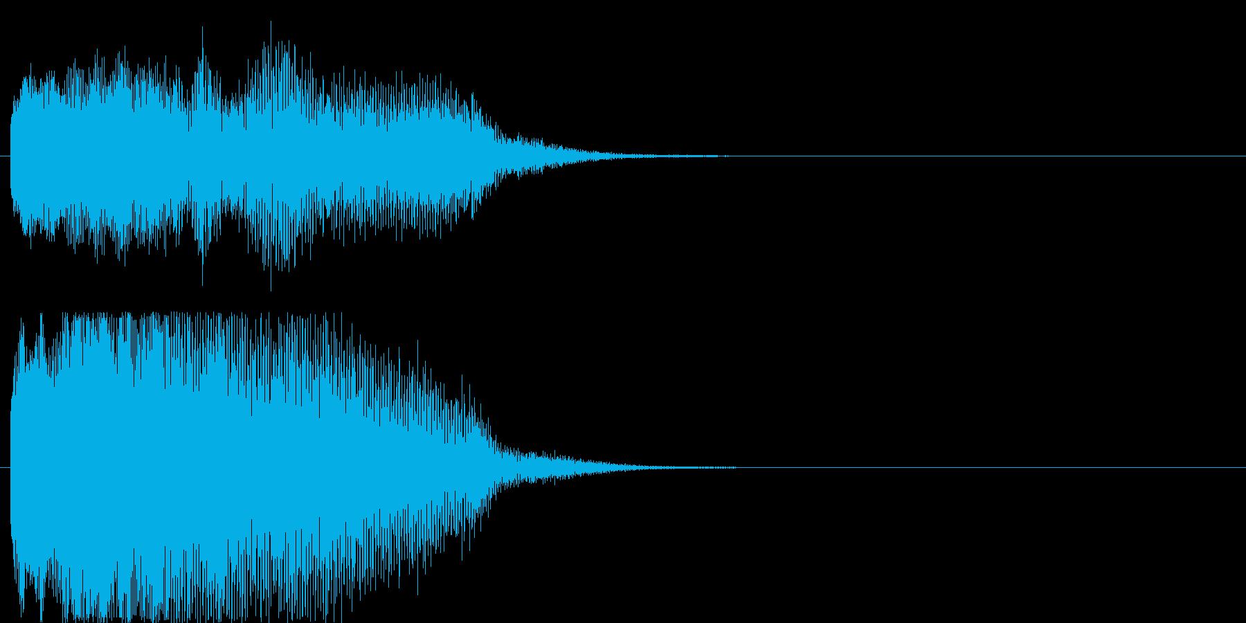 ゲーム、クイズ(不正解)_003の再生済みの波形