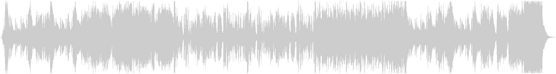 ファンファーレが印象的なオーケストラの未再生の波形