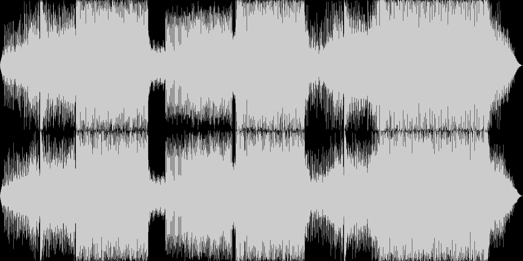 壮大で明るいEDMの未再生の波形