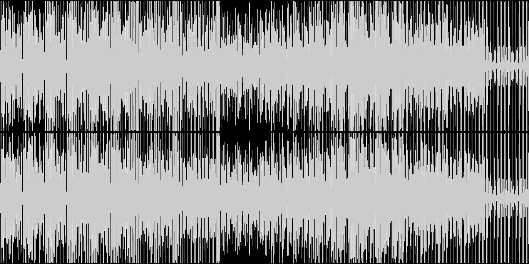 和風 ラウンジ チルアウト 三味線 琴の未再生の波形