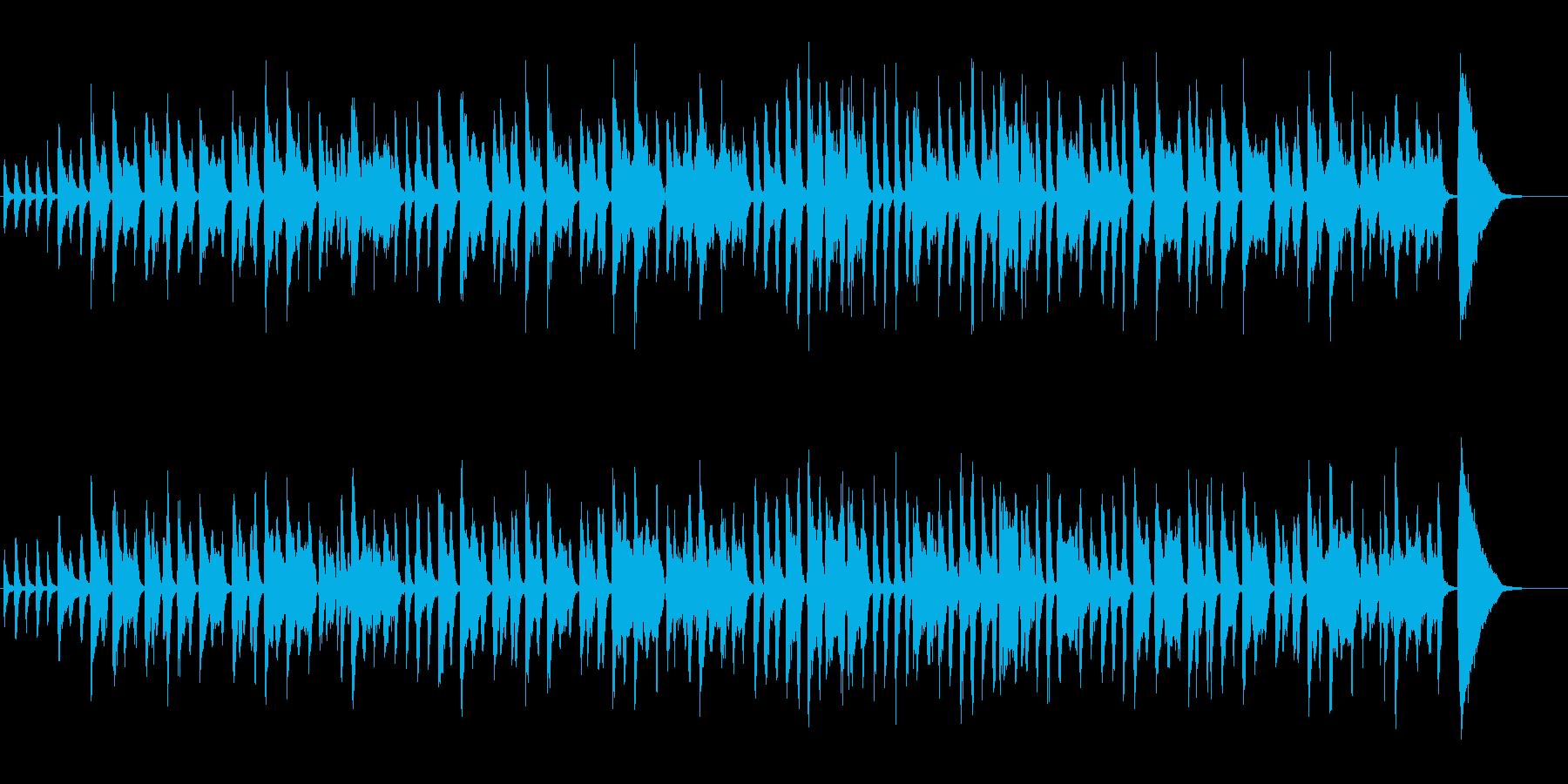 ひょうきんなポップの再生済みの波形