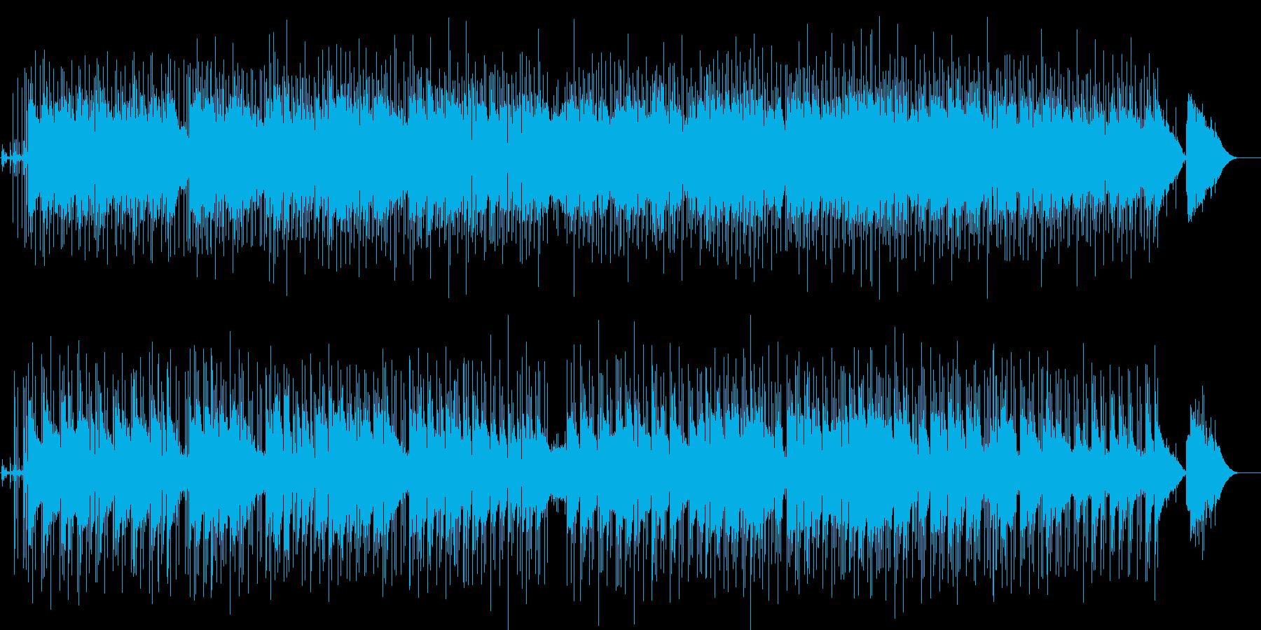 二人のごあいさつ、決意表明等のBGMの再生済みの波形