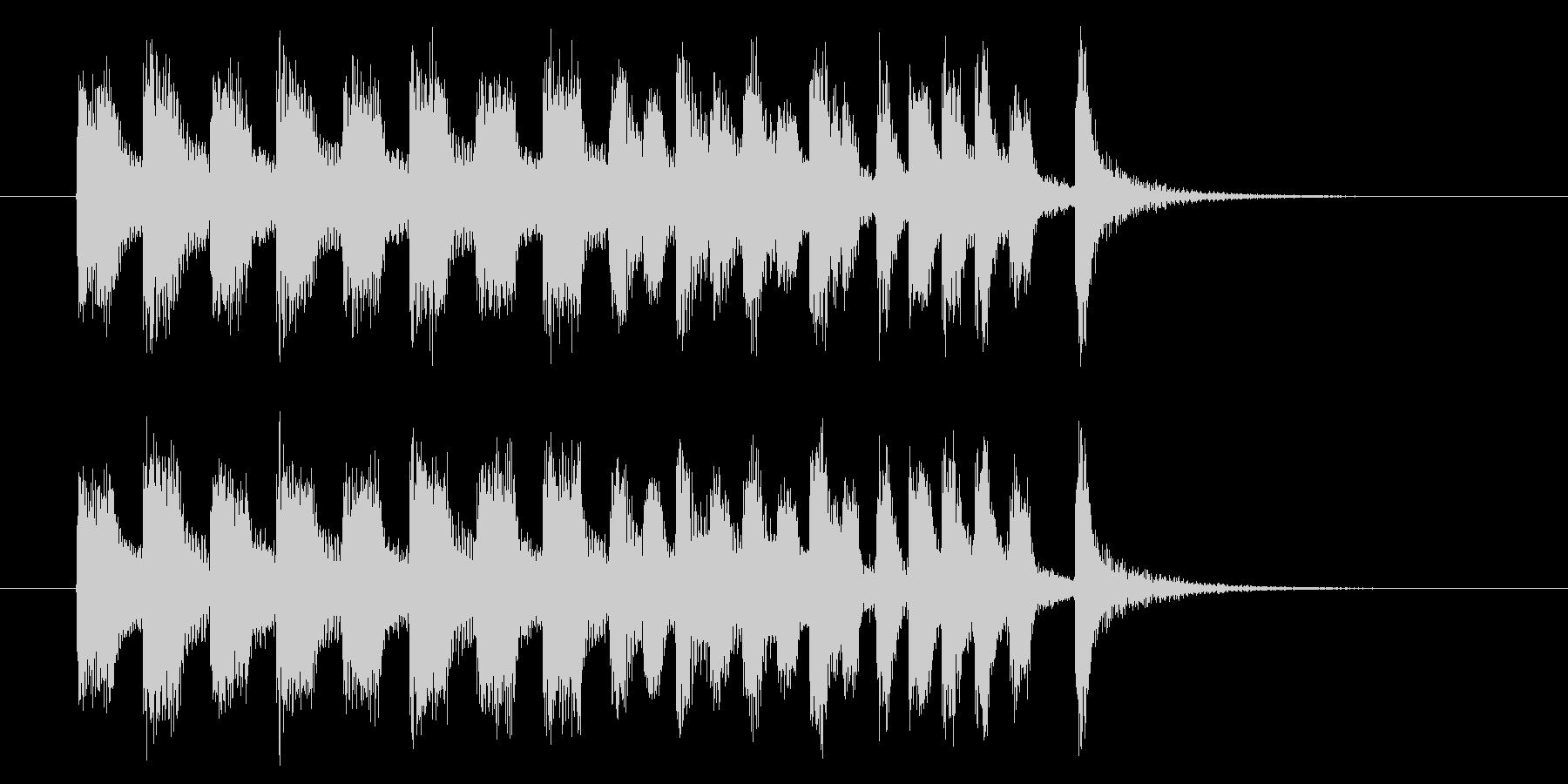 コミカルでキャッチ―トランペットジングルの未再生の波形