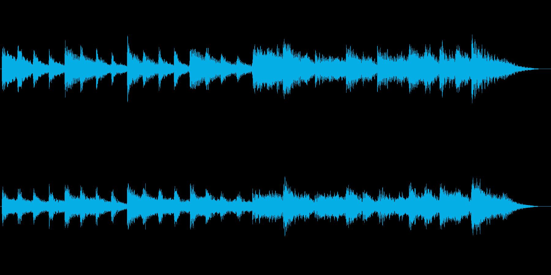 物思いにふける黄昏 夕暮れ切ないBGMの再生済みの波形