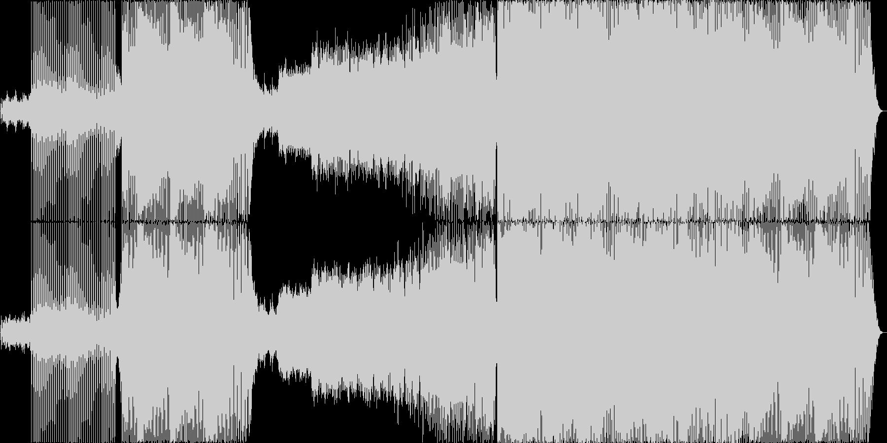 bpm128 Tranceの未再生の波形