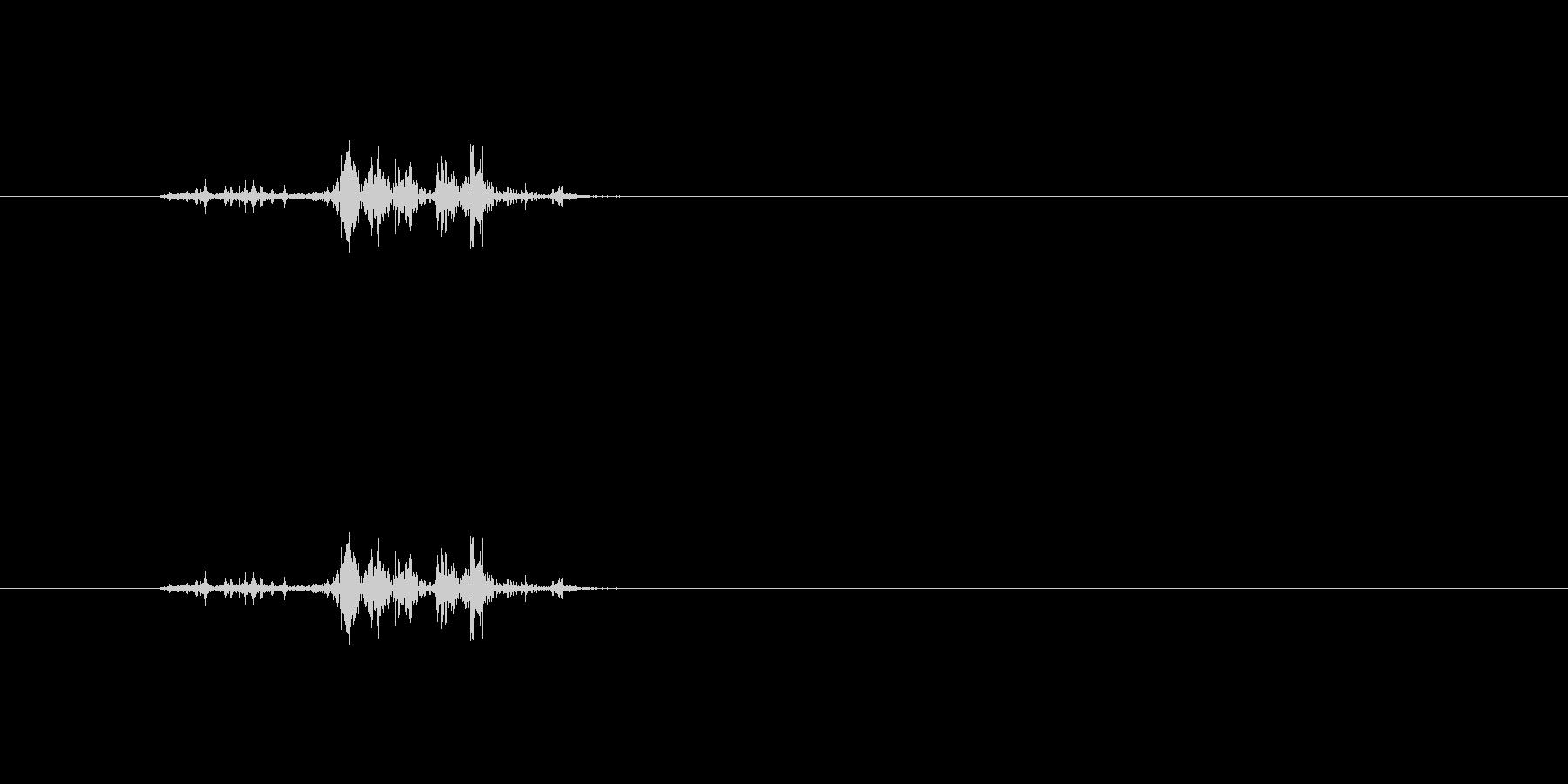 【本03-7(パラパラ)】の未再生の波形