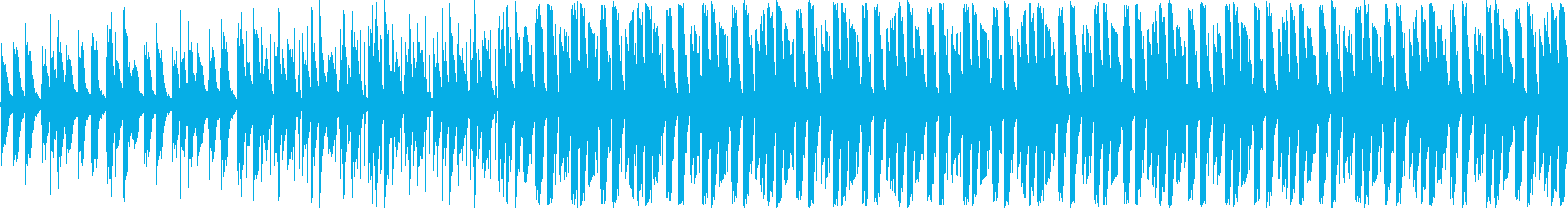 【キラキラシンセポップ】の再生済みの波形