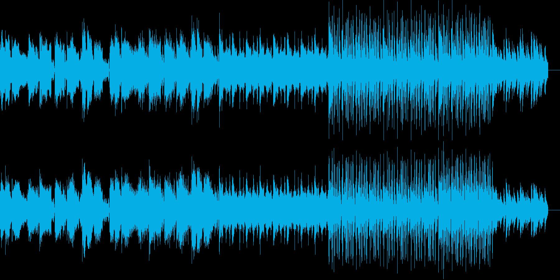 ヒーリングなチルテクノの再生済みの波形