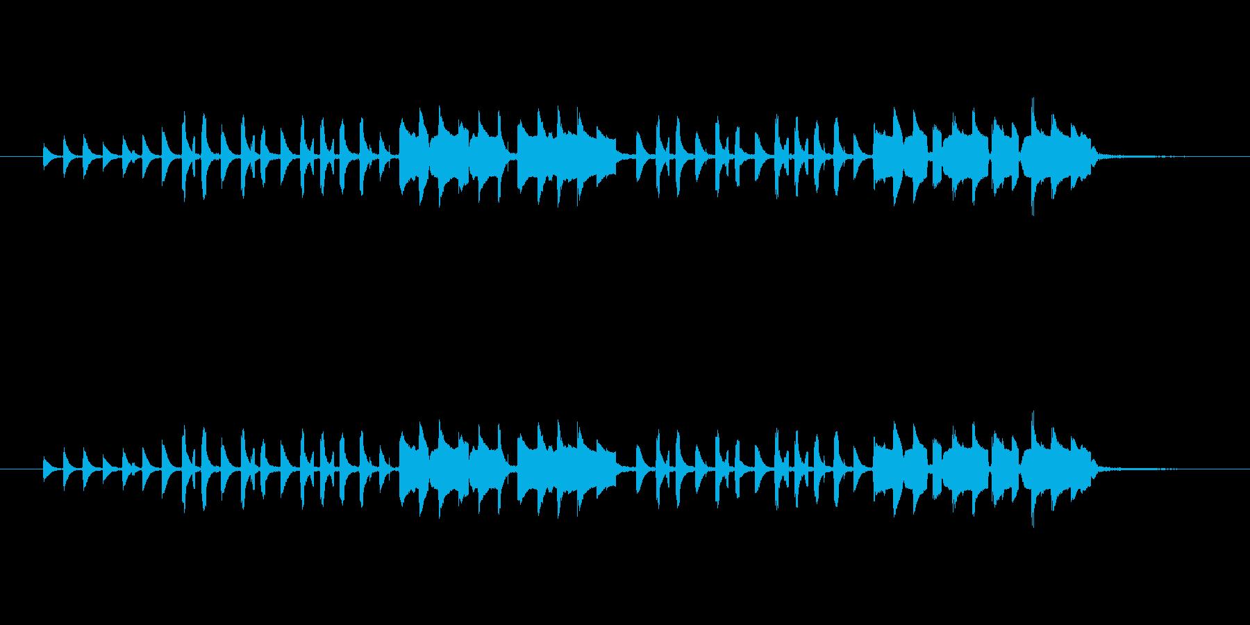 小物楽器使用 (クラベス・カスタネット…の再生済みの波形