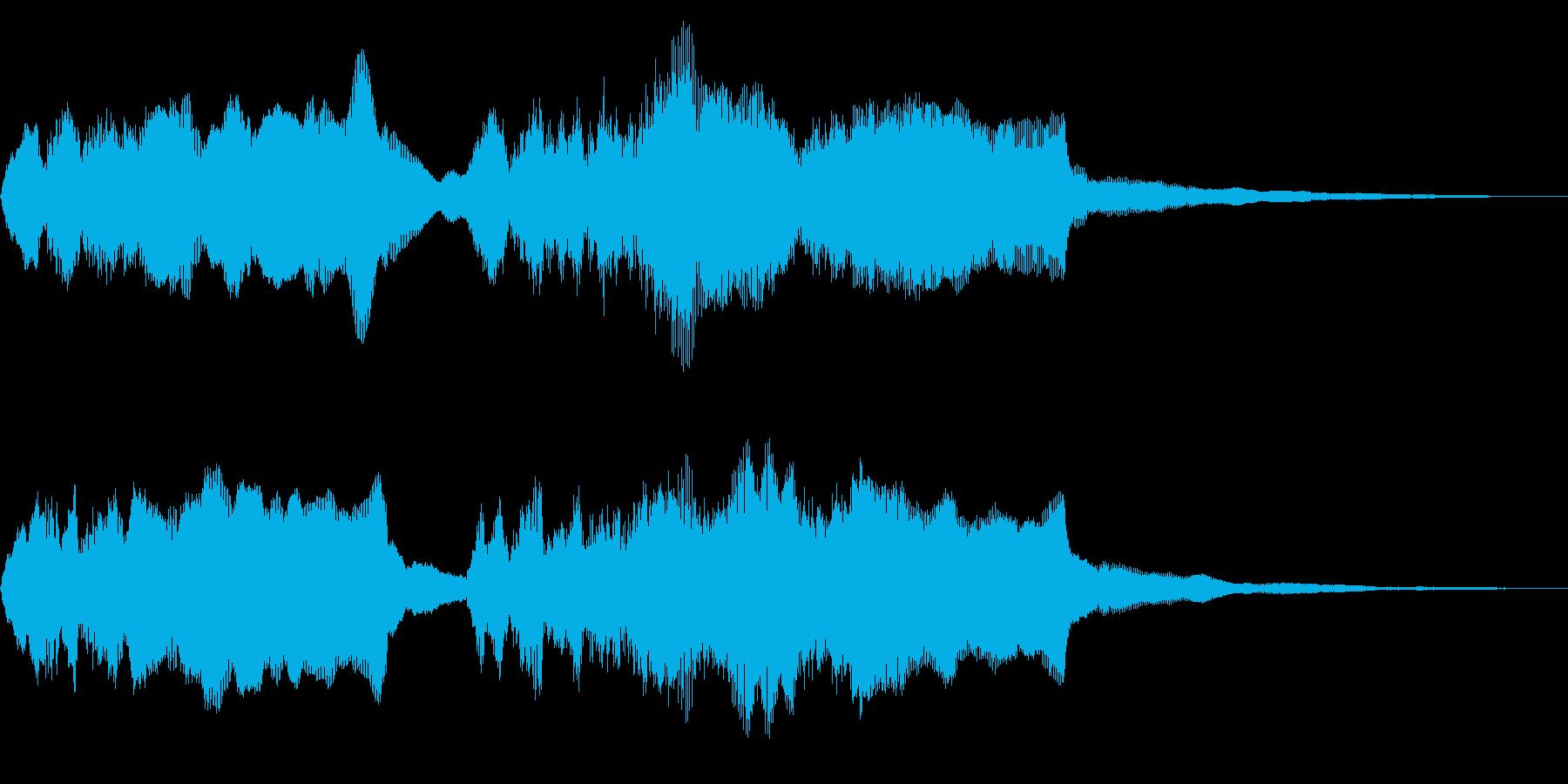 チャラリー オルガンとブラス トッカータの再生済みの波形