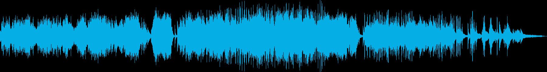 リスト:愛の夢第3番(ピアノソロ)の再生済みの波形