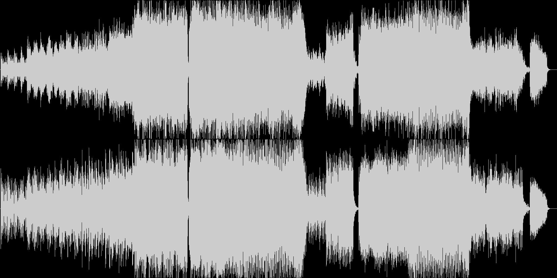 前向きで感動的なバイオリン 企業VP等の未再生の波形