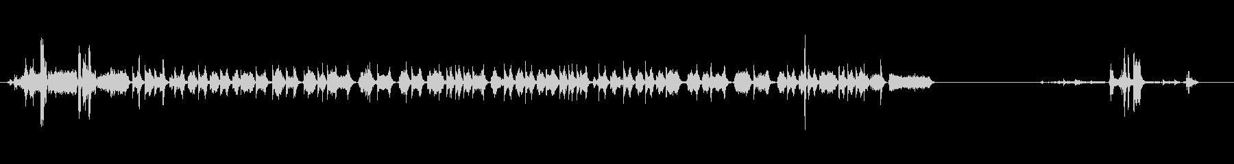 【プリンター01-1】の未再生の波形