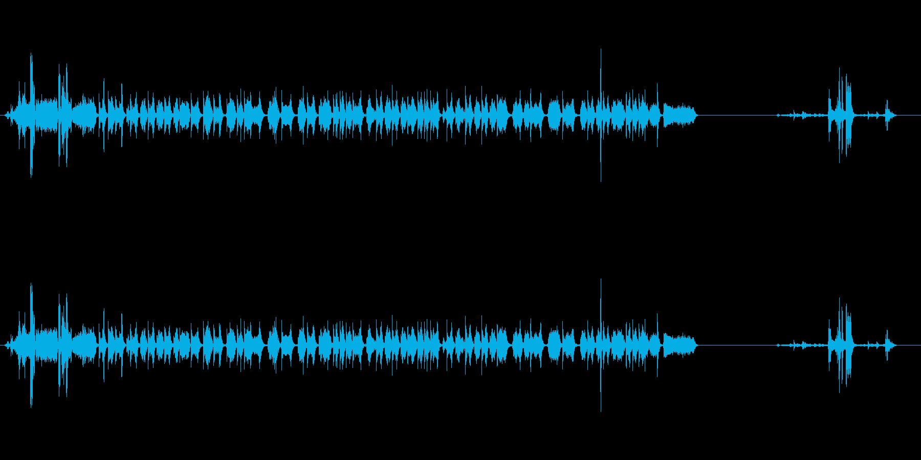 【プリンター01-1】の再生済みの波形
