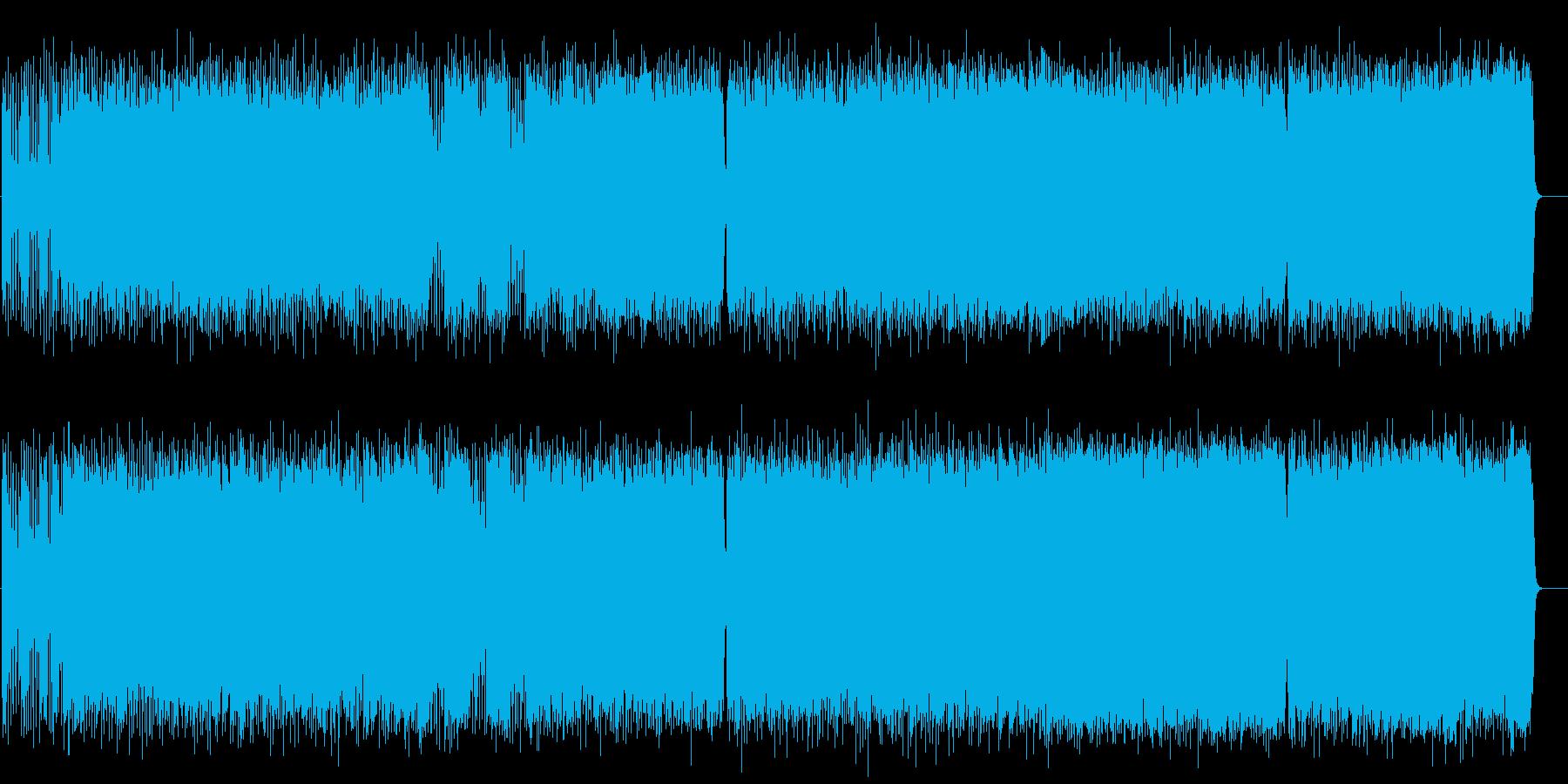 2ビートのスピード感がスリリングなメタルの再生済みの波形