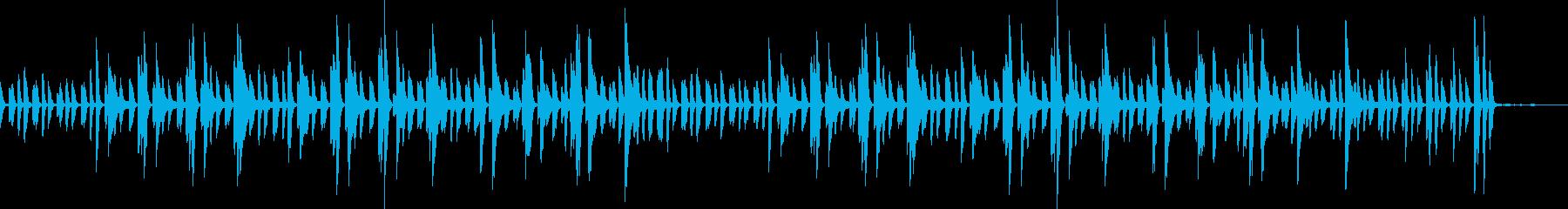 日常パート・ピアノソロ・説明・紹介(遅)の再生済みの波形