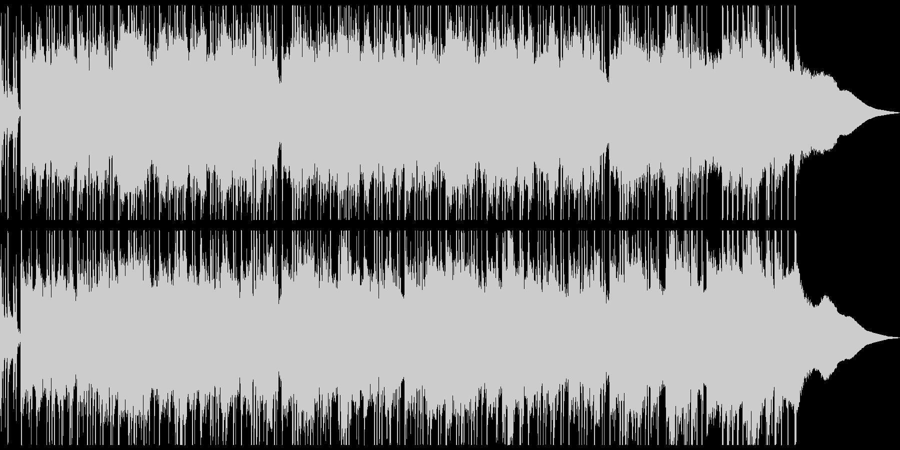さわやかで少し切ないアコーステックな曲の未再生の波形