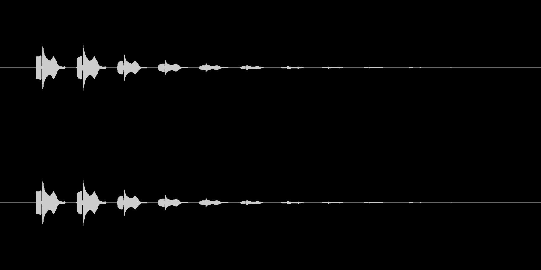 【ポップモーション15-4】の未再生の波形