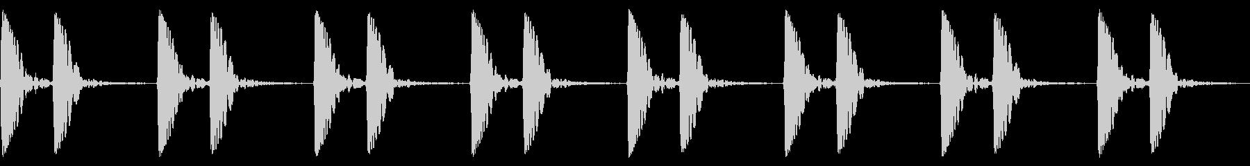 心音/ドックン/心臓の未再生の波形