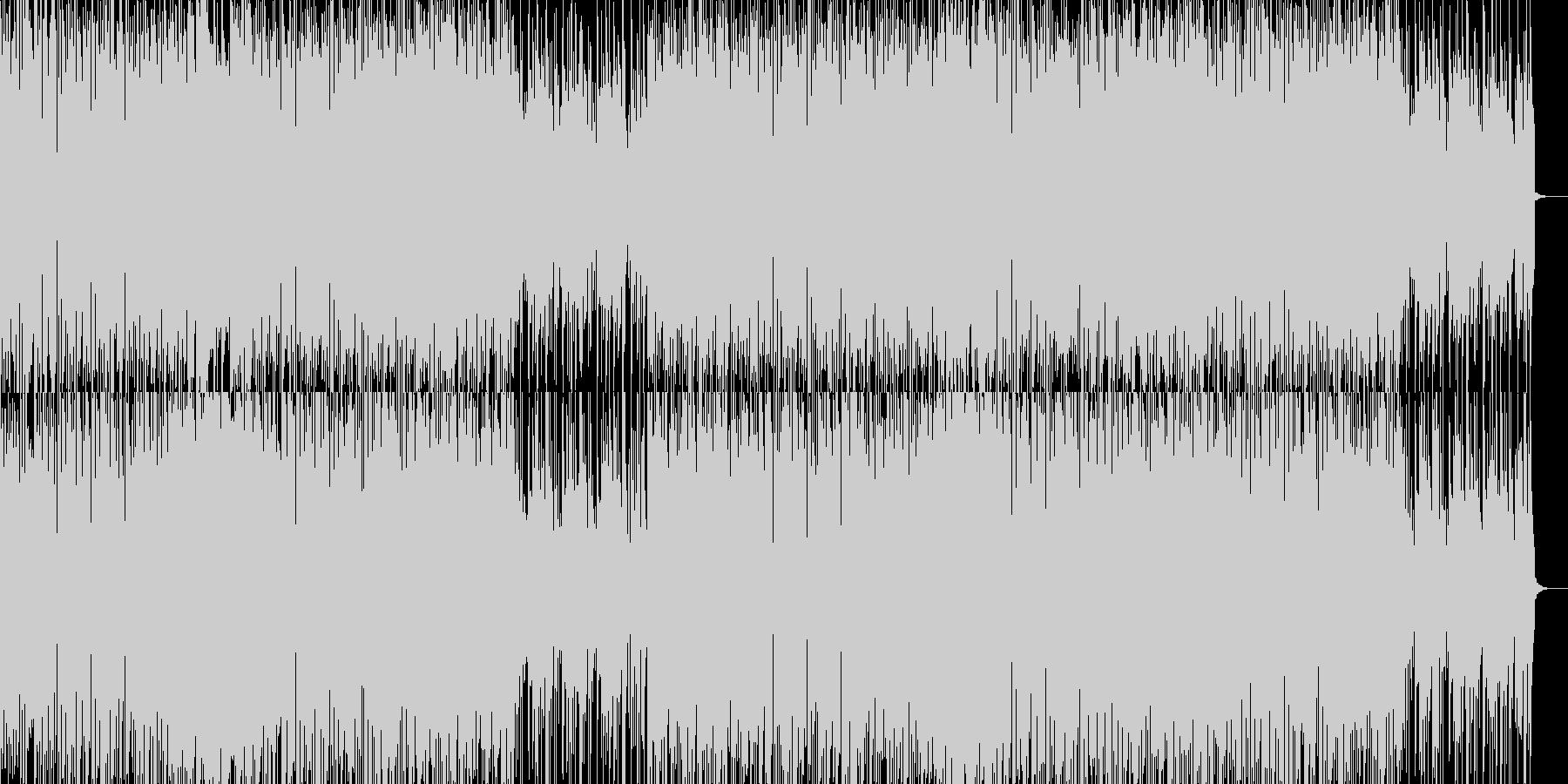 サンバ海岸ステージの未再生の波形
