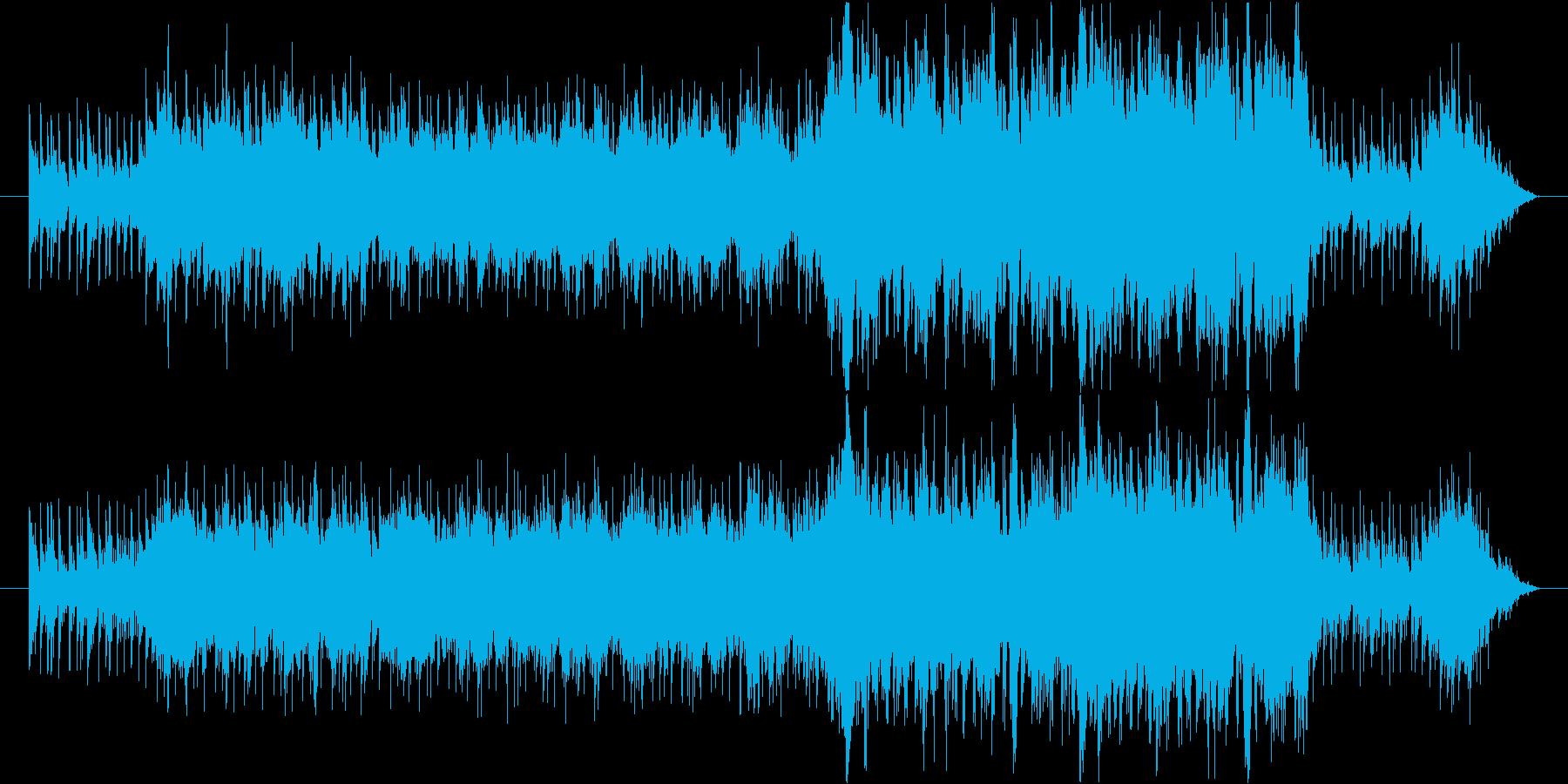 和を意識したオーケストラです。太鼓等の…の再生済みの波形