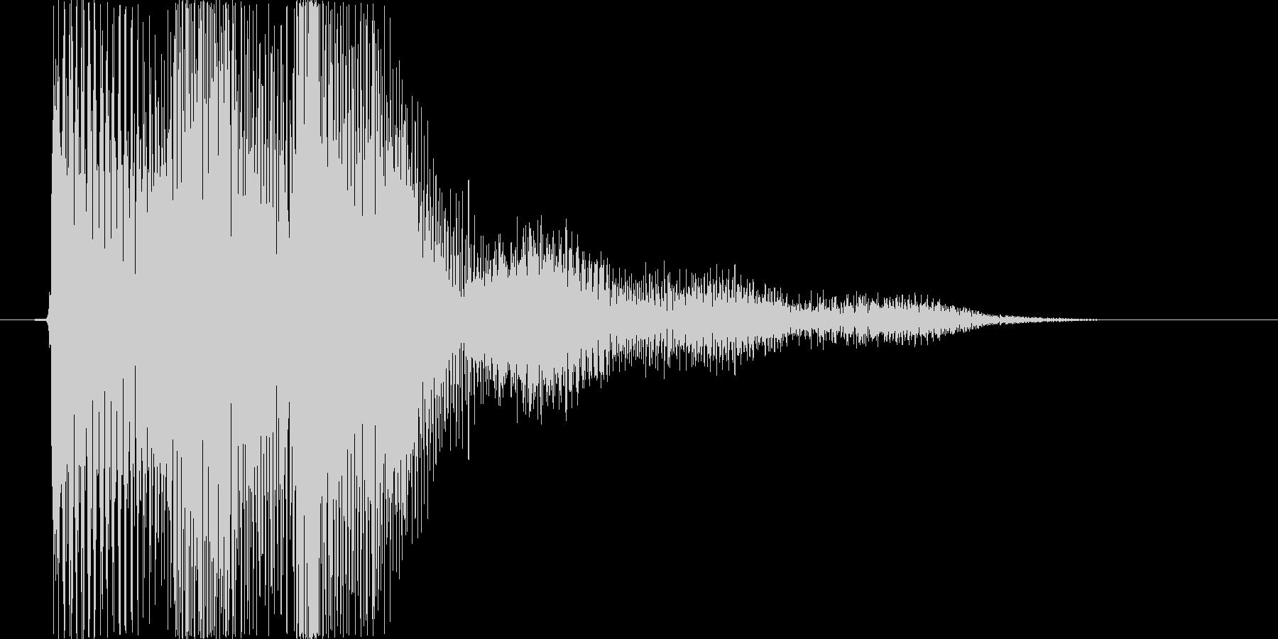 ピロリという和音のSEの未再生の波形