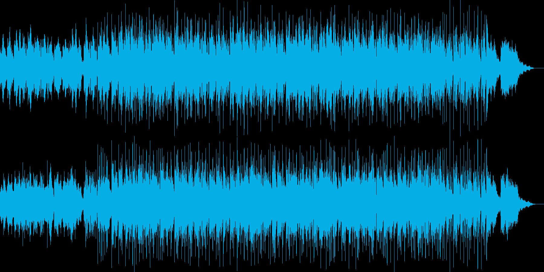 ジャズ風 MIX、アレンジ パターン2の再生済みの波形