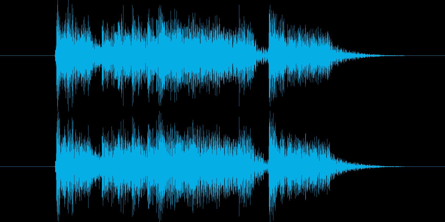 男性コーラスによるジングルなどにの再生済みの波形