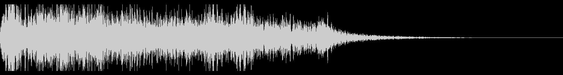 連続花火の本当にリアルな効果音!07の未再生の波形