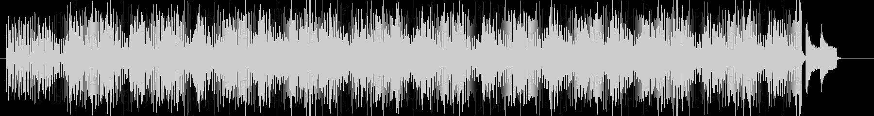 きらきらベルのメロディーが特徴的ポップスの未再生の波形