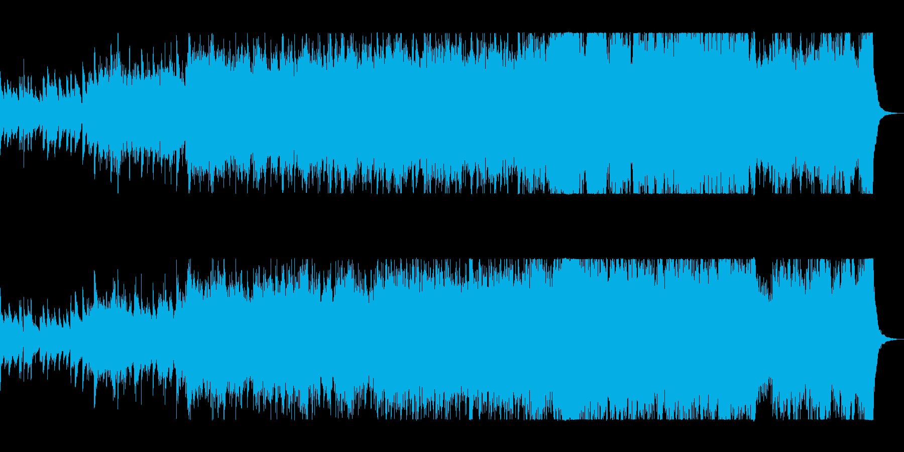 優しく奏でるヒーリングミュージックの再生済みの波形
