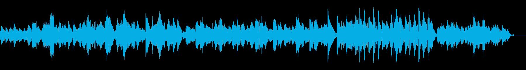 穏やかなアコギの調べの再生済みの波形