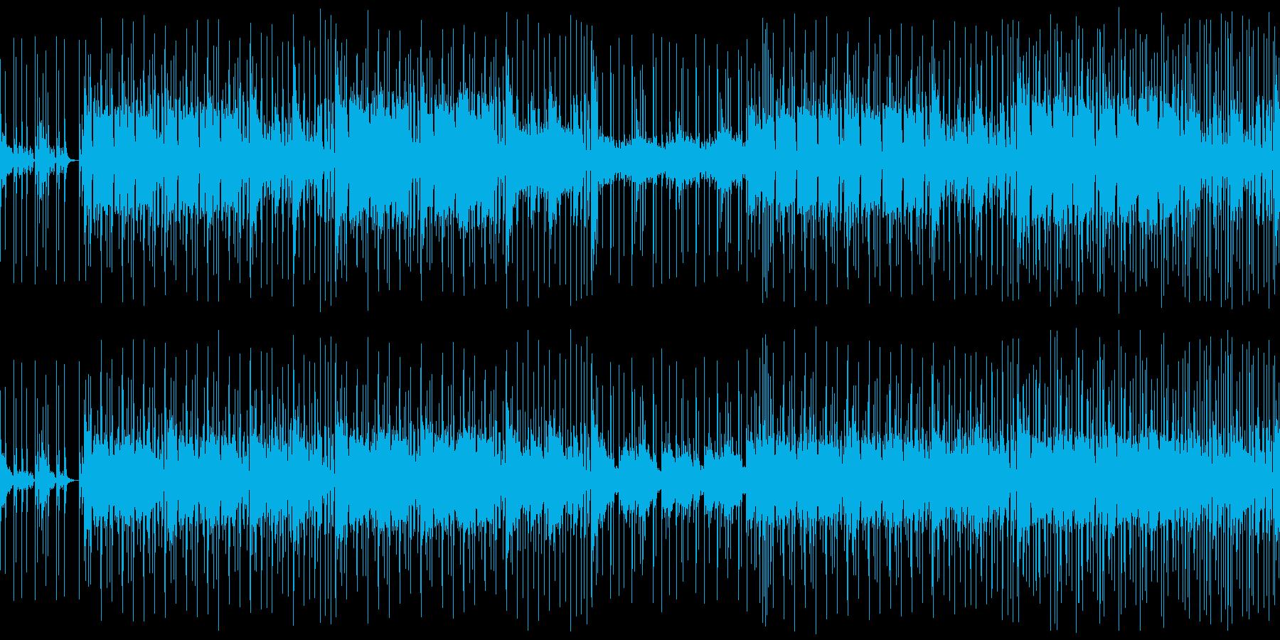 【メロディ抜き】クラビネット主体のファ…の再生済みの波形