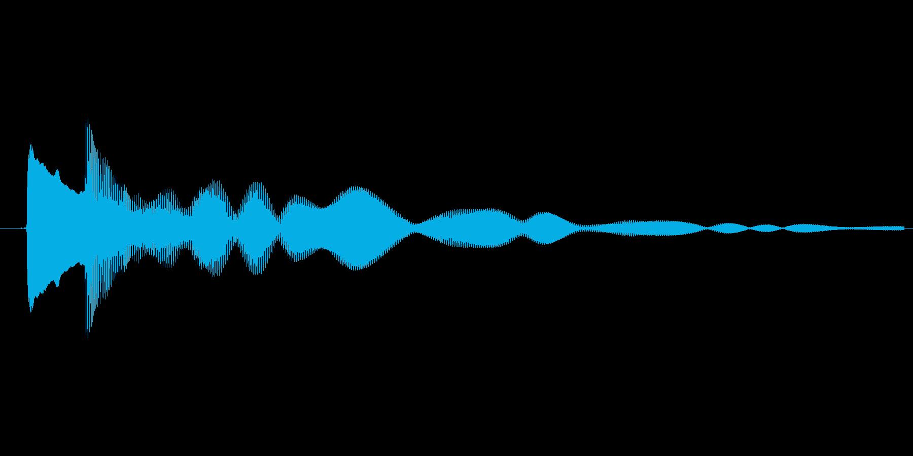 ゲーム、クイズ(ピンポン音)_002の再生済みの波形