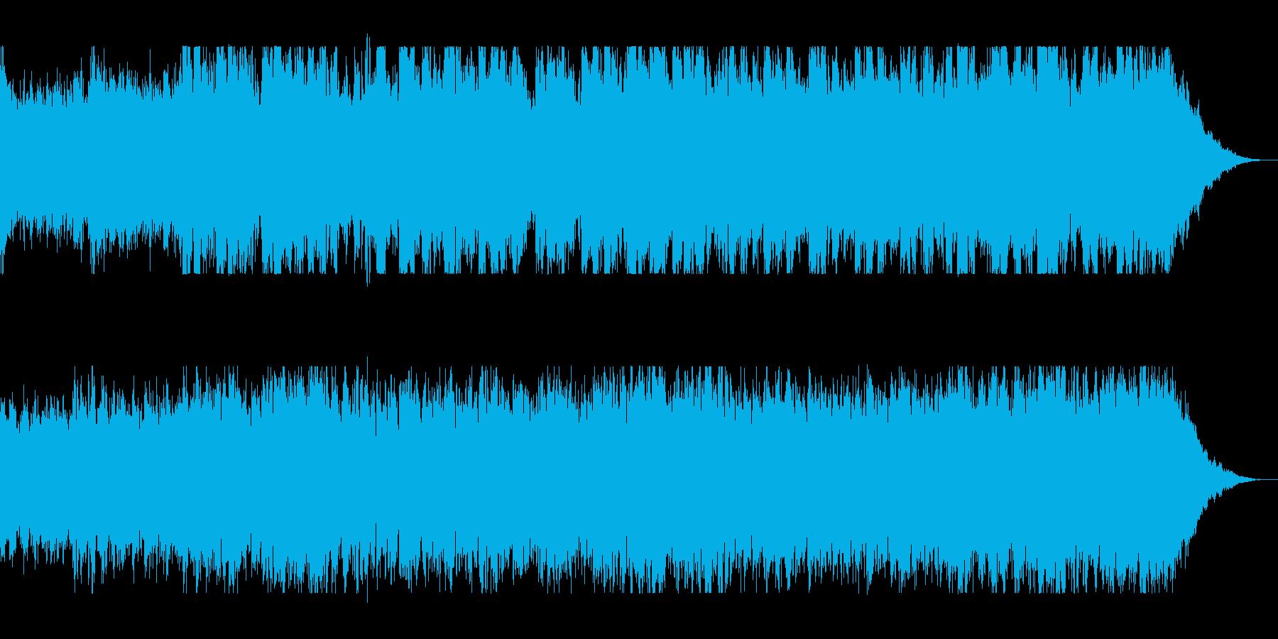 壮大で緩やかなオーケストラサウンドの再生済みの波形