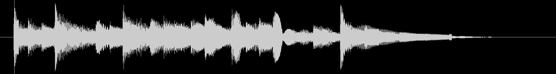 動画のエンディング等に使えるアコギ曲の未再生の波形