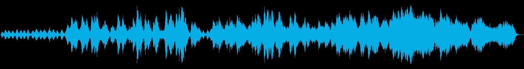 幻想的なシンセオーケストラの再生済みの波形