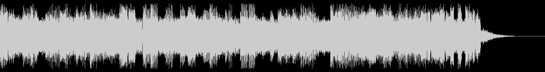 ファミコン風 ポップなジングルの未再生の波形