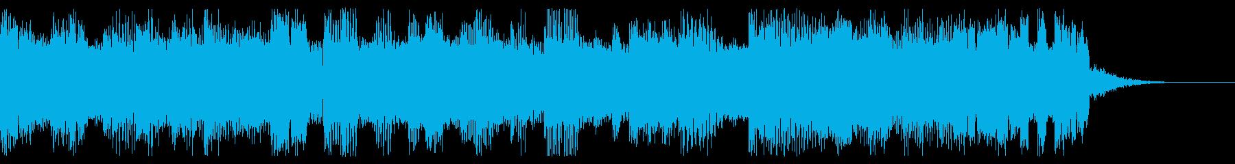 ファミコン風 ポップなジングルの再生済みの波形