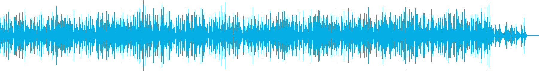 アップテンポで軽やかなジャズの再生済みの波形